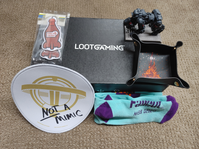 Loot Gaming October 2020 Boo! Crate