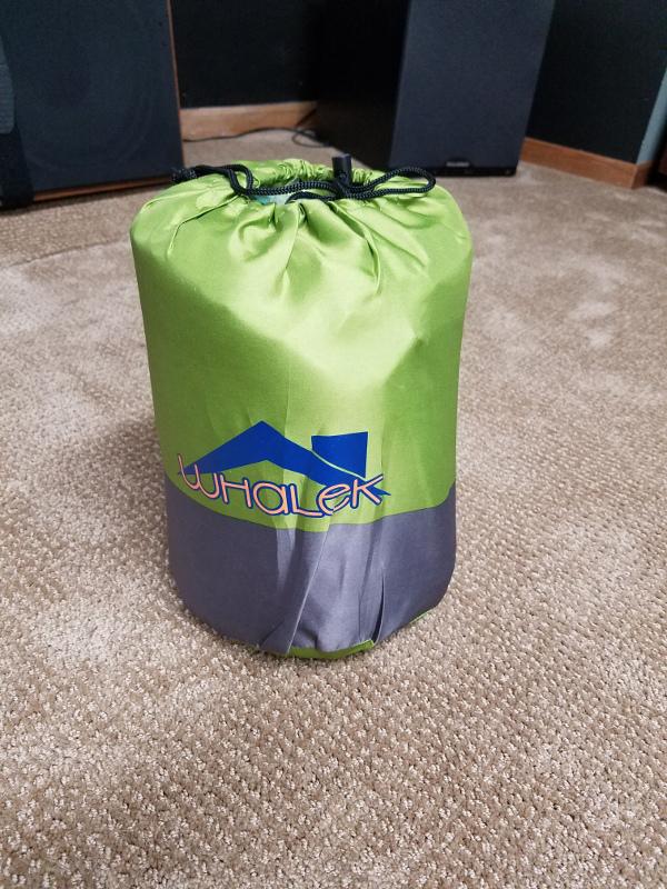 Whelek Self-Inflating Camp Pad