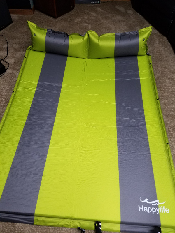 Whalek/Happy Life Self Inflating Sleeping Pad