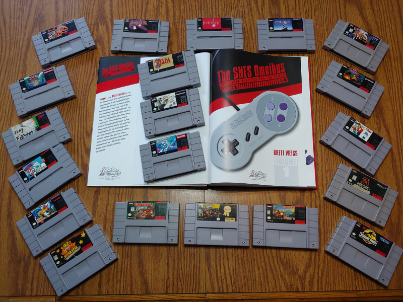 The SNES Omnibus: The Super Nintendo and Its Games, Volume 1 (A-M)