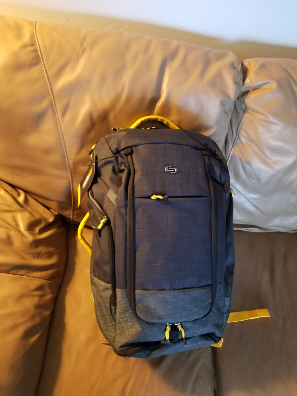 Solo Velocity Everyday Max Backpack Duffel