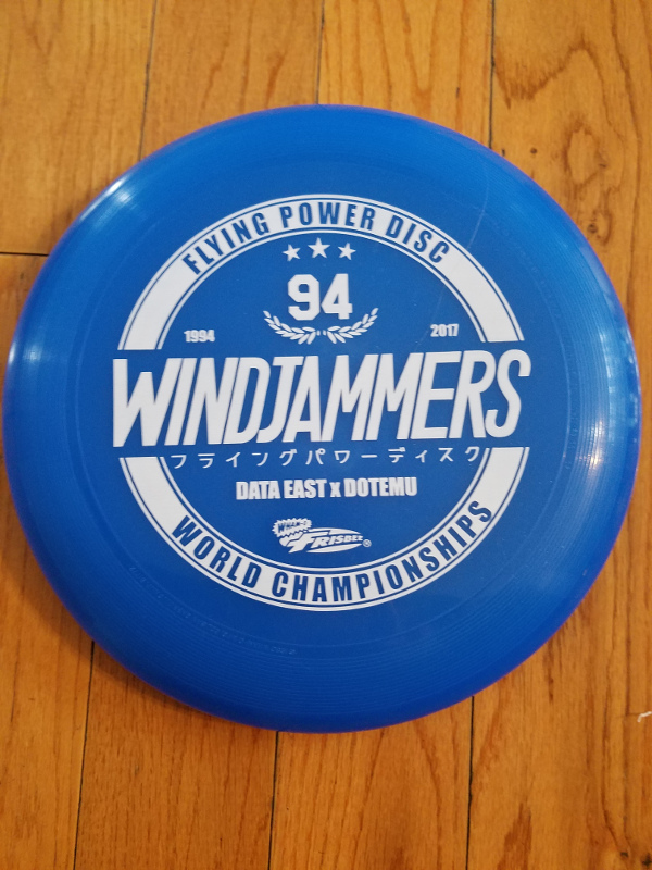 Windjammers Flying Power Disc