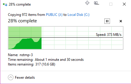 SpeedIN' USB 3.0 S600 256GB