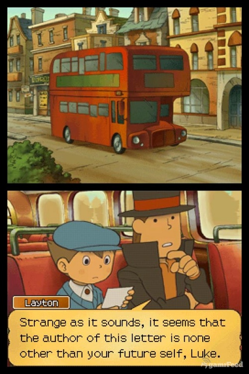 Professor Layton: and the Unwound Future