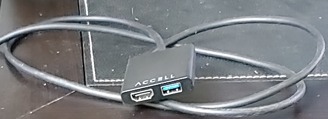 Accell USB-C VR Adapter