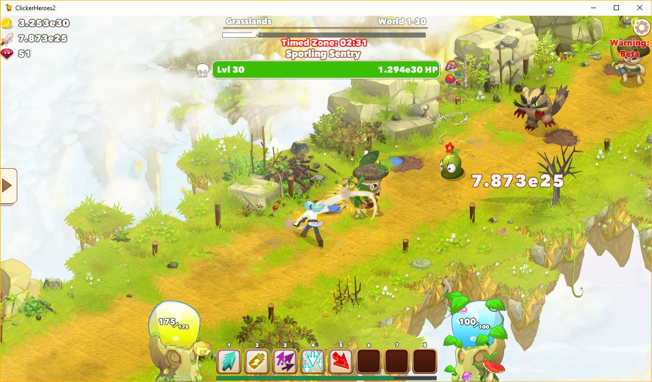 Clicker Heroes 2 (PC) (Preview)