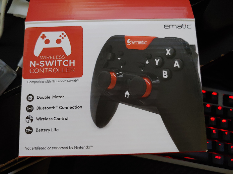 Ematic Wireless N-Switch Controller